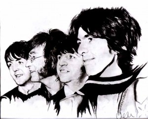 The_Beatles_by_AZIZA_FEMI